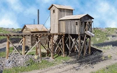 Martinsburg Coal Mine #1 Kit - 20 x 20 x 8-1/2'' -- O Scale Model Railraod Building -- #488