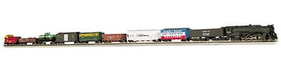 Empire Builder Set ATSF -- N Scale Model Train Set -- #24009