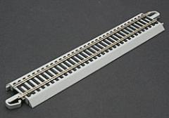 9 Straight NS E-Z Bulk (50) -- HO Scale Nickel Silver Model Train Track -- #44581