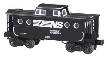 N5C Porthole Caboose - 3-Rail Norfolk Southern #785 -- O Scale Model Train Freight Car -- #47733