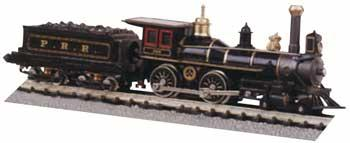 American 4-4-0 & Tender Pennsylvania -- HO Scale Model Train Steam Locomotive -- #51114
