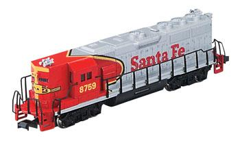 GP50 Santa Fe -- N Scale Model Train Diesel Locomotive -- #61252