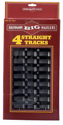 12 Straight (4) -- G Scale Steel Model Train Track -- #94511
