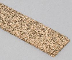 Cork Roadbed 3' (25) -- Model Train Track Roadbed -- N Scale -- #3019